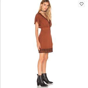 "Cleobella ""Shay"" Short Dress in Cayenne"